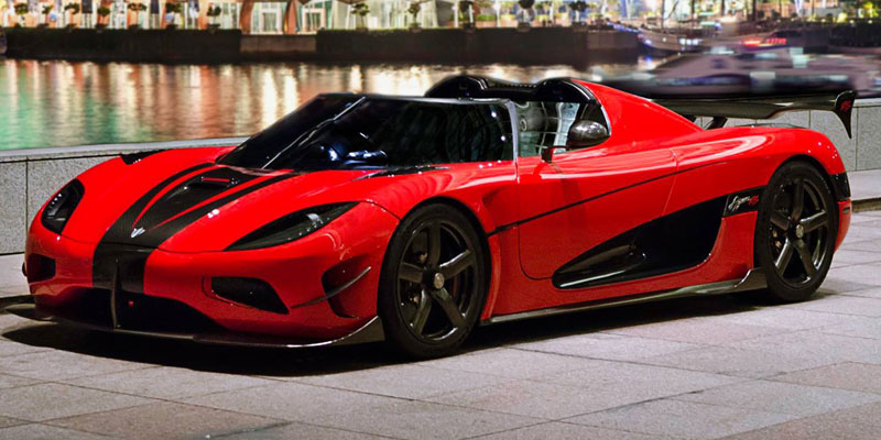 Koenigsegg 0-60 Times